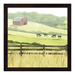 Metaverse Art Sunlit Graze I Framed Wall Art