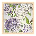 Metaverse Art Summer Hydrangea I Framed Wall Art
