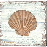 Metaverse Art Ocean Scallop Canvas Wall Art