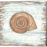 Metaverse Art Ocean Snail Canvas Wall Art