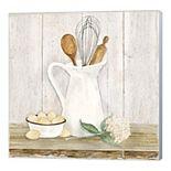"Metaverse Art ""Vintage Kitchen II"" Canvas Wall Art"