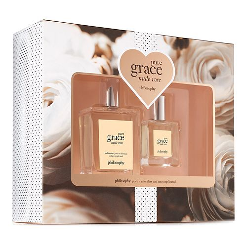 philosophy Pure Grace Nude Rose 2-Piece Women's Perfume Gift Set ($69 Value)