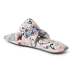Women's Dearfoams Paisley Twist Slide Slippers