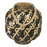 Stratton Home Decor Two Tone Woven Lantern