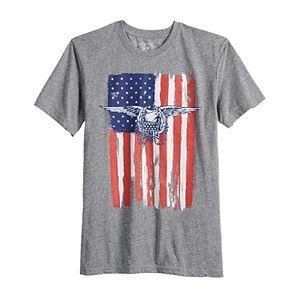 Men's Eagle American Flag Tee