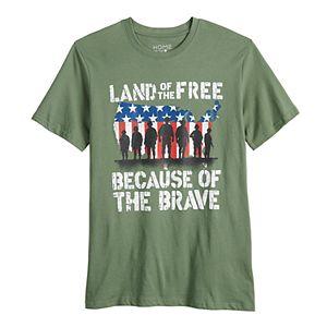 Men's Land of The Free Tee
