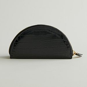Elizabeth and James Half-Moon Clutch
