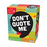 Don't Quote Me Adult Party Game by Outset Media