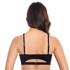 Women's ECO BEACH Cutout Squareneck Bikini Top