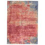 Weave & Wander Cashel Abstract Watercolor Rug