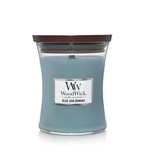 WoodWick Blue Java Banana Medium Hourglass Candle