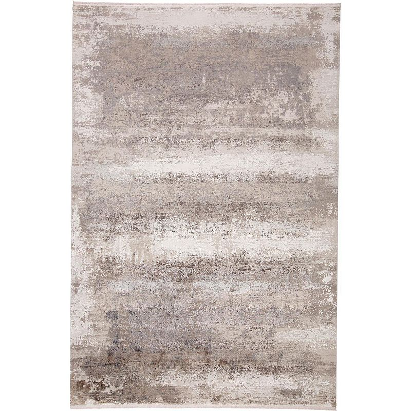 Weave & Wander Lindstra Traditional Area Rug, Grey, 6.5X9.5 Ft Product Image