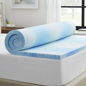 """Sealy 2"""" Memory Foam Mattress Topper with Cover"""