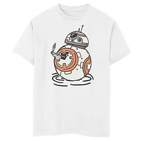 Boys 8-20 Star Wars The Rise of Skywalker BB-8 Lighter Graphic Tee