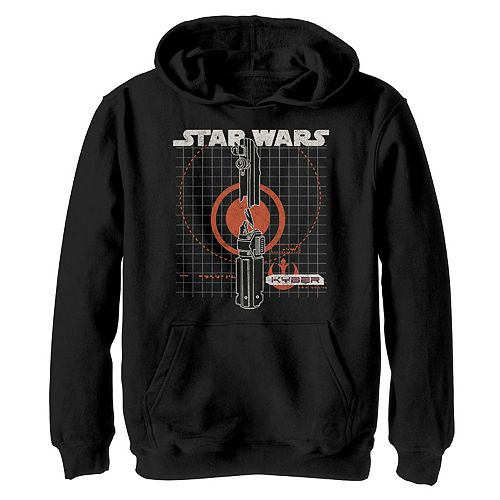 Boys 8-20 Star Wars The Rise of Skywalker Kyber Crystal Graphic Hoodie