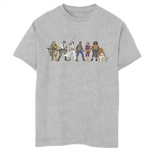 Boys 8-20 Star Wars The Rise of Skywalker Rebel Line Graphic Tee