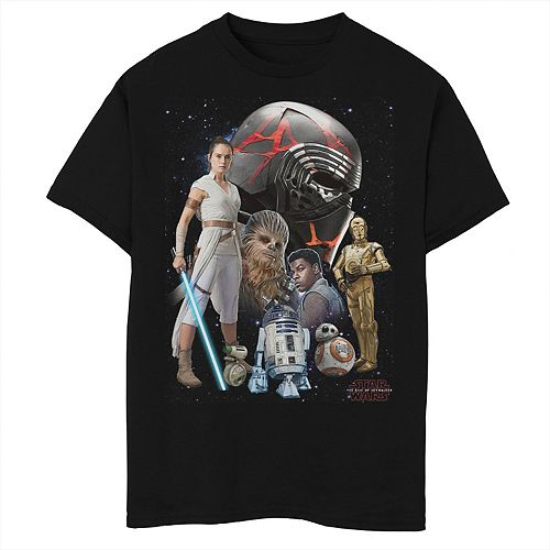 Boys 8-20 Star Wars The Rise of Skywalker Sith Trooper Villain Graphic Tee