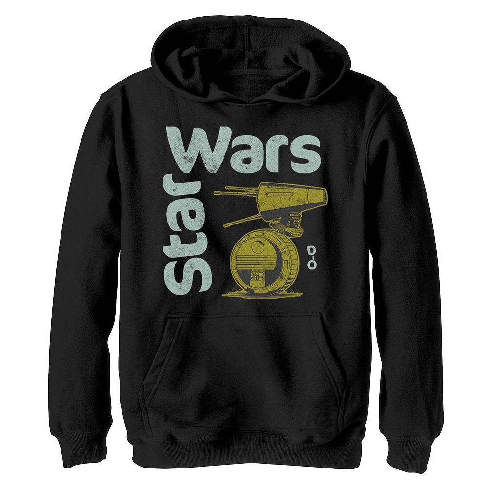 Boys 8-20 Star Wars The Rise of Skywalker D-0 Roll Graphic Hoodie
