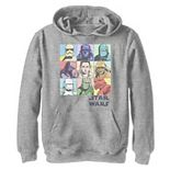 Boys 8-20 Star Wars The Rise of Skywalker Pastel Character Box Graphic Hoodie