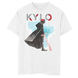 Boys 8-20 Star Wars The Rise of Skywalker Sinister Kylo Graphic Tee