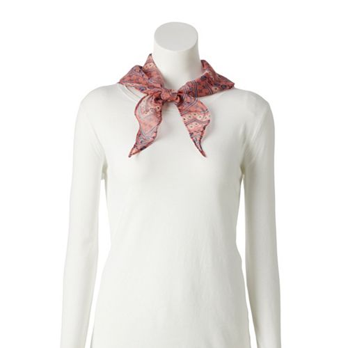 Women's SONOMA Goods for Life® Recycled Country Bandanna Print Kite Scarf
