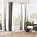 Waverly Sun n Shade Solstice Stripe Window Curtain
