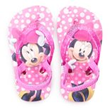 Disney's Minnie Mouse Toddler Girl Glitter Sandals