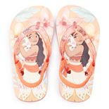 Disney's Moana Toddler Girl Glitter Sandals