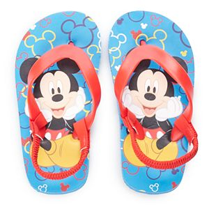 Disney's Mickey Mouse Toddler Boy Elastic Back Sandals