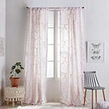 Peri Chenille Scallop Window Curtain