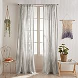 Peri Cut Geo Window Curtain