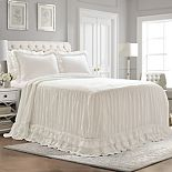 Lush Decor Ella Shabby Chic Ruffle Lace Bedspread 3-pc Set