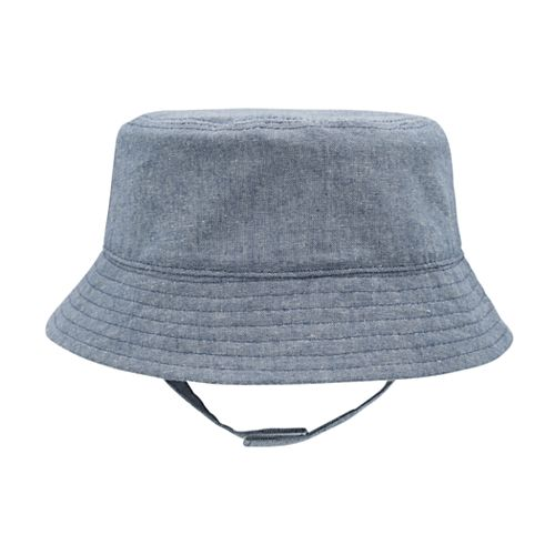 Baby Boy Goldbug Chambray Sun Bucket Hat