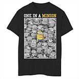 Boys 8-20 Despicable Me Minions One In A Minion Color Pop Portrait Graphic Tee