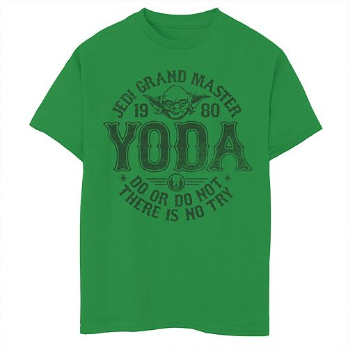 Boys 8-20 Star Wars Yoda Master 1980 Do Or Do Not Graphic Tee