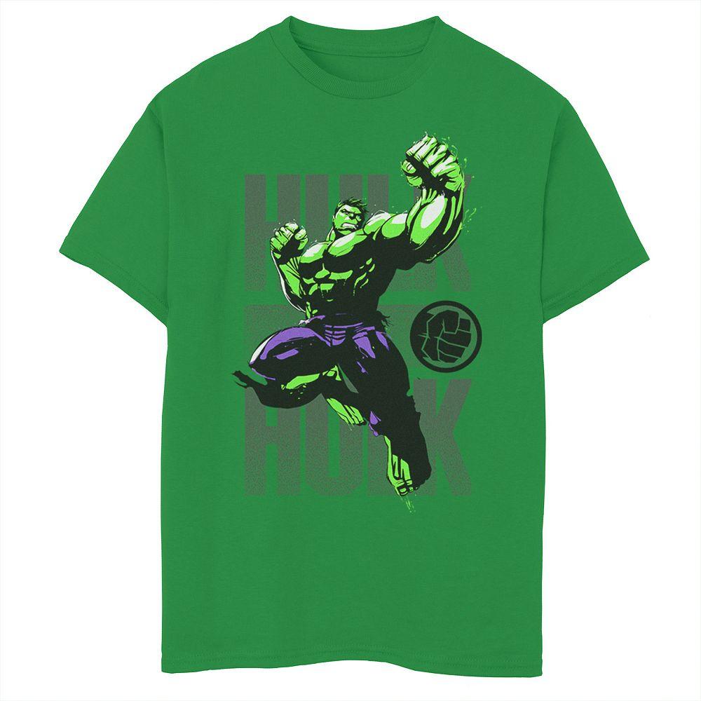 Boys 8-20 Marvel Hulk Avengers Assembler Jump Punch Graphic Tee