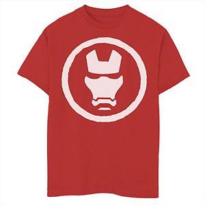 Boys 8-20 Marvel Iron Man Mask Icon Graphic Tee