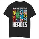 Boys 8-20 Marvel Avengers Father's Day Everyday Heroes Graphic Tee