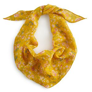 Women's Sonoma Goods For Life® Recycled Ditzy Floral Scarf