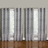 The Big One® 4-Pack Decorative Print Window Curtains