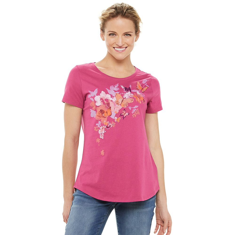 Women's SONOMA Goods for Life® Short Sleeve Graphic Tee