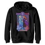 Disney's Frozen 2 Boys 8-20 Elsa Anna Split Geometric Poster Graphic Hoodie