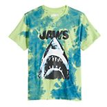 Boys 8-20 Jaws Tie Dye Graphic Tee