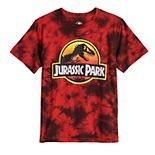 Boys 8-20 Jurassic Park Tie Dye Graphic Tee
