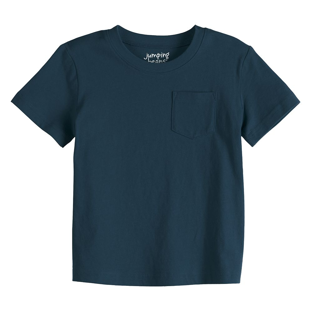 Toddler Boy Jumping Beans® Essential Pocket Tee
