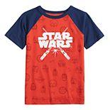 Boys 4-12 SONOMA Goods for Life® Star Wars Raglan Tee