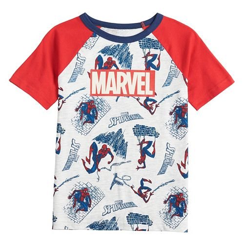 Boys 4-12 SONOMA Goods for Life® Marvel Spider-Man Raglan Tee