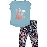 Baby Girls Under Armour I Run This Show Capri Set
