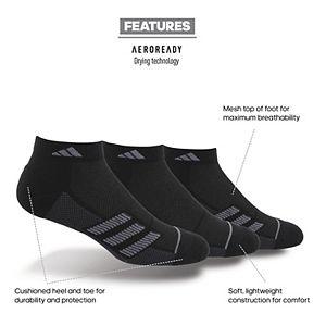 Men's adidas Superlite Stripe II 3-pack Low-Cut Socks