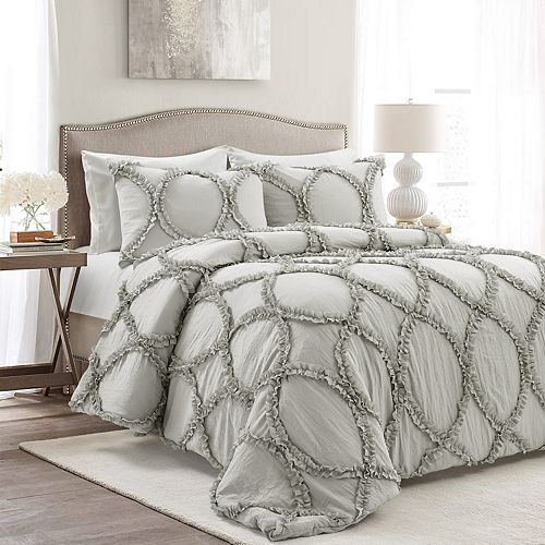 Lush Decor Riviera Neutral Comforter 3